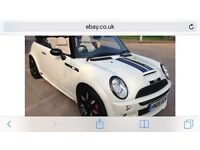 2008 Mini Cooper s convertible sidewalk limited edition 1 off stunning mini fully loaded £4995 Px