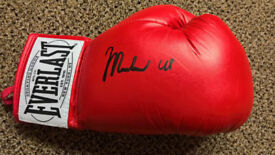 Muhammad Ali signed glove everlast