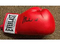 Muhammad Ali signed glove everlast