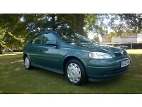 **FULL SERVICE HISTORY**2002 VAUXHALL ASTRA 1.6I CLUB 5 DOOR HATCHBACK**LOW MILEAGE**12 MONTHS MOT**