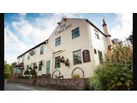 Front of the House staff needed at Chequers Inn in Bilton-in-Ainsty.