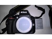 Nikon D3300 body only. Boxed as new