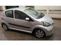 06 Toyota Aygo AUTOMATIC 5 door,54k miles,23.4.19 MOT,fully stamped service book, 2 former keepers