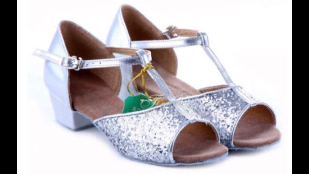 Children's ballroom/Latin dance shoes