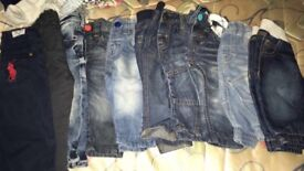 Baby boy Jeans starting from 0-3- 9-12 months.