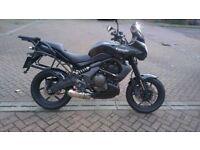 Kawasaki Versys 650,new MOT,service record,28000mls,panniers,£2150