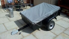 For sale small trailer ideal for camping or the odd trip to the recycling centre