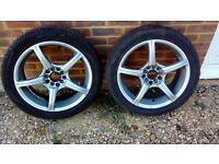 vw audi alloy wheels 17 inch 5x100 or 5x112 T4 golf A3 A4 TT