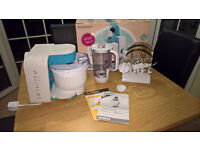 Silvercrest Food Processor 550W with mixing bowl and liquidiser in superb condition