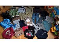 Boy bundle of clothes 2-3 years (29 items): GAP, Regatta, Next, Baby K,Junior J, M&S, John Lewis