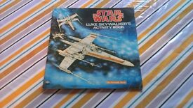 Vintage Star Wars Luke Skywalker Activity Book