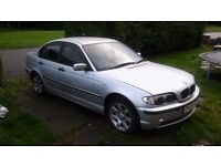 Cars parts spares or repaires bmw 316i 03 110k drives for parts no mot