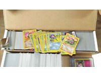 1000+ Pokemon cards most in plastic sleeves from new all in excellent condition