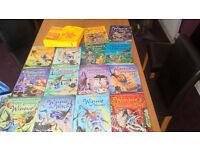 Winnie the Witch set x14 books with winnie the witch bag