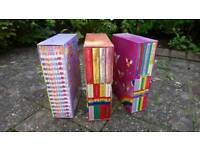 Rainbow Magic Sporty Fairies and Festive Fairies Box Sets + Felicity Wishes Magical Moments Box Set