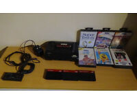 Sega Mastersystem 2 with games and all cables.