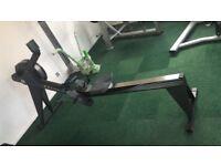 Concept 2 Model E indoor rower PM5 - black