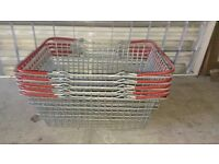 5x Shopping baskets