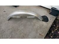 Alloy front mudguard for sale.