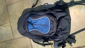 Eurohike Colossus 65 + 15 litre rucksack, hiking, travelling