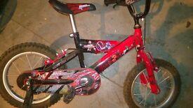 kids Power Rangers bike As New