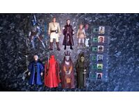 "Star Wars 3;75"" The Phantom Menace/Attack of the Clones assorted figures"