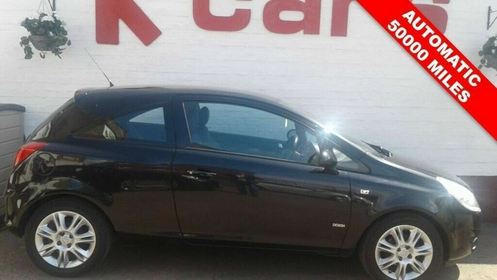 Small Automatic 2009 Vauxhall Corsa 1 4 Design 50000