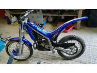 Gas Gas 50cc txt Child Trial bike