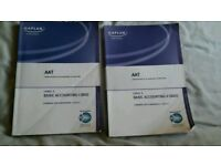 AAT accountancy books