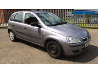 2005 VAUXHALL CORSA 1.0 LIFE TWINPORT MET PURPLE MANUAL LOW 65000 MILEAGE