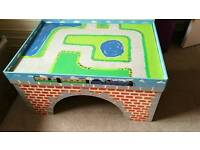 Hand Painted Train/Play Table