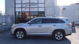 2015 Toyota Highlander LIMITED V6 AWD FULLY LOADED PANORAMIC ROO