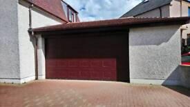 Large Electric Garage Door