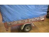 "Brenderup camping car trailer with High Top Frame with Cover 65"" x 47"" trailor"