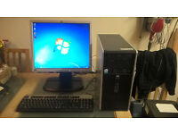HP dual core pc with built in wireless