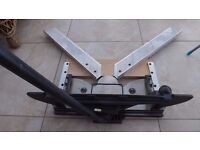 Charnwood W105 Mitre Trimmer, with measuring attachment arms.