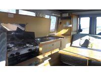 AUTOSLEEPER RECRO.. DIESEL RENAULT TRAFFIC CAMPERVAN! 2 SEAT BELTS IN BACK