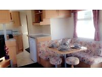 CHEAP FAMILY STARTER CARAVAN NEAR DUMFRIES, CARLISE, KESWICK, GLASGOW, SUNDRUM