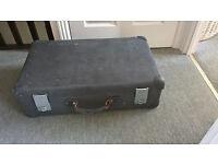 Antique suit case Globe Trotter