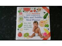 Annabel Karmel's Baby and Toddler Meal Planner book