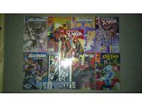 9x comics - batman, spiderman, x-men