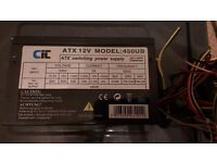 CIT 450W ATX PC Power Supply - Used - (Offers Welcomed)