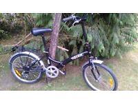 ibiza folding bike,6 speed revoshift,suit adult,ready for use