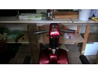 Shoprider Deluxe Mobility Scooter- Collection Knutsford