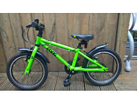Frog 48 Kids Bike, Green, Excellent condition - real first bike