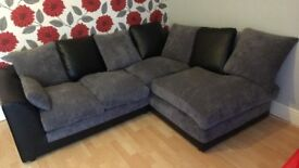 Less than a year old CORNER SOFA