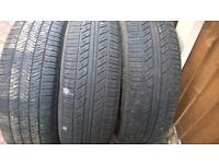 Tyres 225/65/17 suv