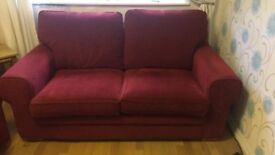 2 x 2 seater sofas from DFS