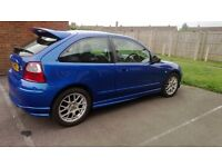 Only 2 owners, reliable MG ZR, new clutch recently
