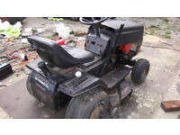RIDE ON TRACTOR LAWN MOWER FIAT ELECTRIC START